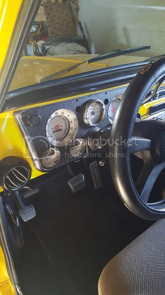 After market gauges in factory dash? - Chevy Message Forum