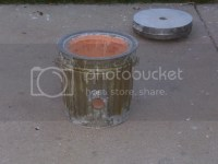 My first furnace - Garbage Can / Flower Pot Crucible Furnace