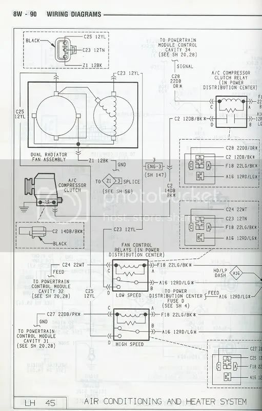 dodge intrepid wiring diagram for cooling fans