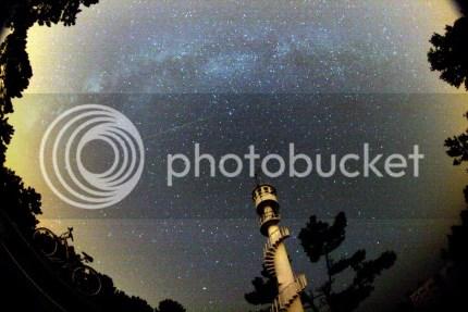 Chuva de estrelas (meteoros)