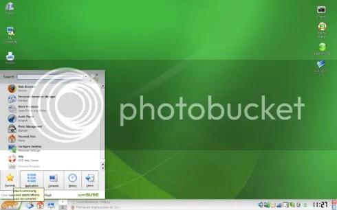 Screenshot KDE