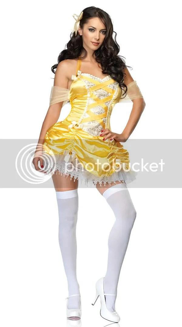 Sexy Disney Princess Belle costume Halloween Cossie/Cosplay ideas - princess halloween costume ideas