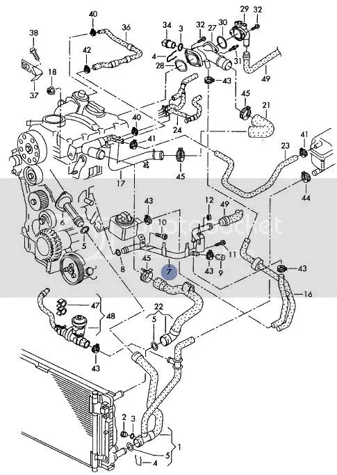 audi a4 2002 engine diagram