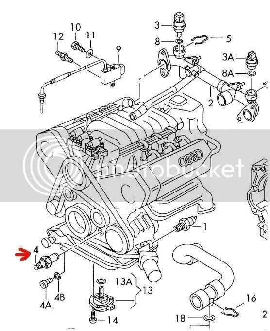 2004 audi a6 2 7t engine oil sensor