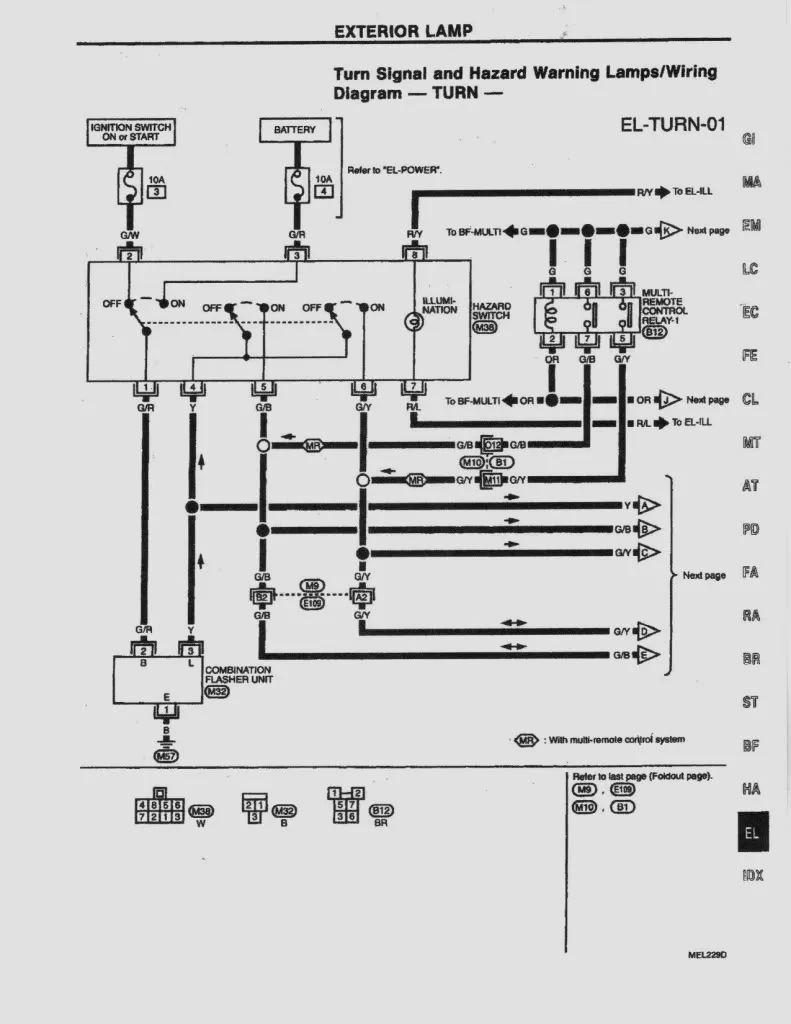 1995 nissan 240sx engine wiring