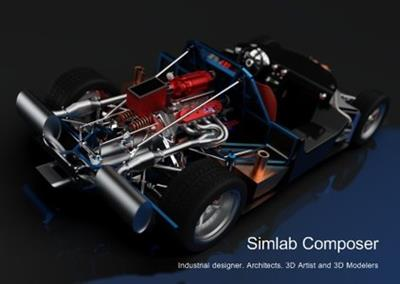 Simulation Software SimLab Composer 7.v7.1.1