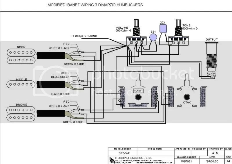 wiring diagram free download rg350dx guitar