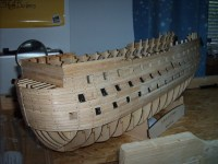 Bernds Baubericht Victory aus Holz