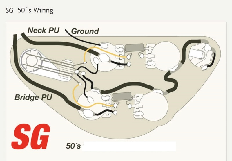 50s Wiring Diagram Sg | Wiring Diagram on