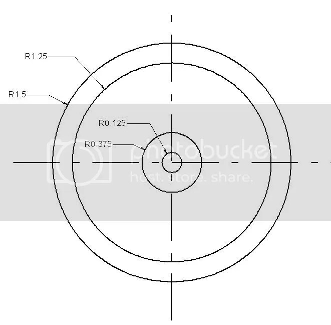 Using CAD to design and layout the cuts for a flywheel