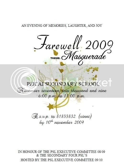 Farewll invitation board - farewell invitations templates