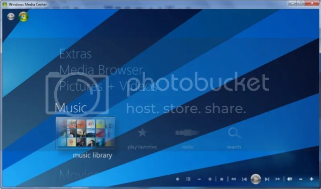 4 Customise Windows 7 Media Center (Part 3)