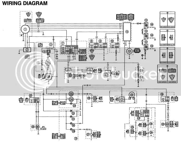 Yamaha 600 2011 Wiring Diagram Wiring Diagrams