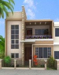 House Box Design Cute Box Model House Design In 2400 Sq Ft