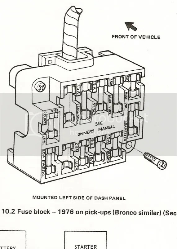 1986 Ford Bronco Fuse Box Diagram - Wwwcaseistore \u2022