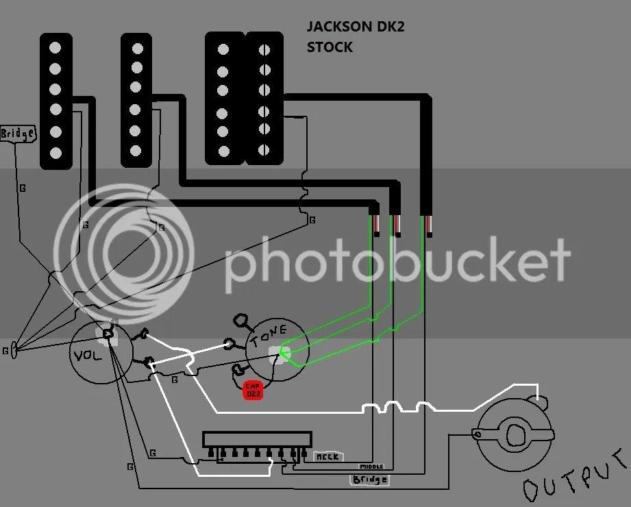 jackson dinky wiring diagram
