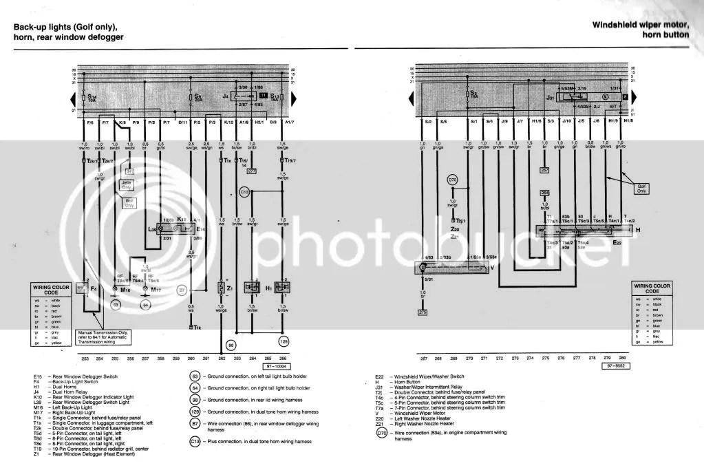 audi wiper motor wiring diagram bosch rear wiper motor wiring