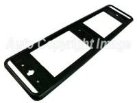 Quality Black Car Number Plate Surround Frame Holder ...