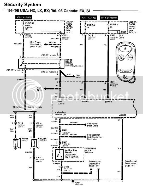 2003 honda civic rear speaker wiring diagram