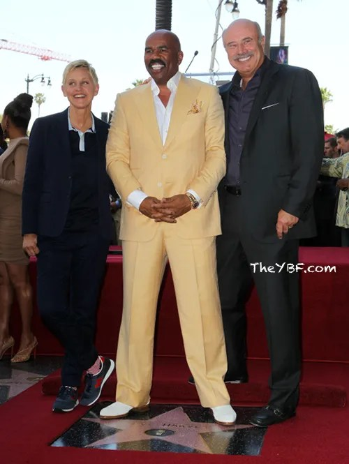 wennstev23 FAB Photos: Steve Harvey gets his star on the Hollywood Walk Of Fame