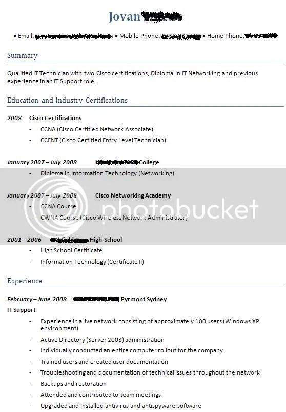 critique my resume - Jolivibramusic