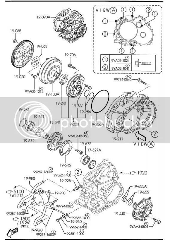 Mazda 3 automatic transmission diagram electrical circuit digram