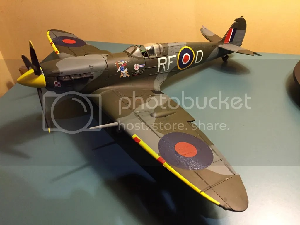 Uk Airshow Review Forums O Airfix 1 24 Spitfire Finished