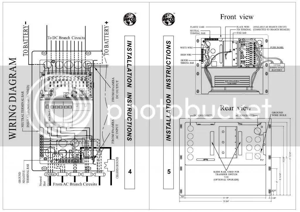 wfco 8955 converter wiring diagram