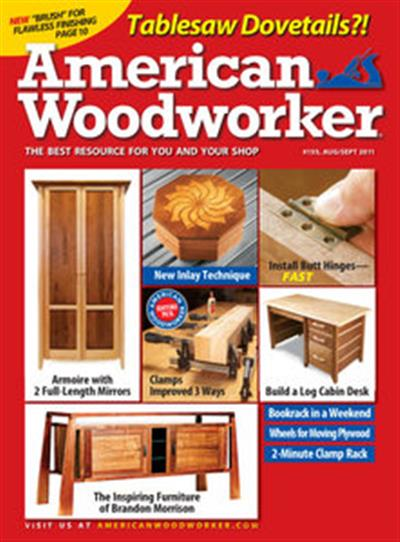 American Woodworker – August/September 2011