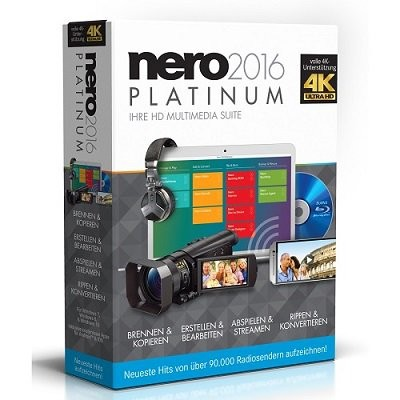 Nero 2016 v17.0.02 000 Platinum HD Multimedia Suite Final incl Serial 160618