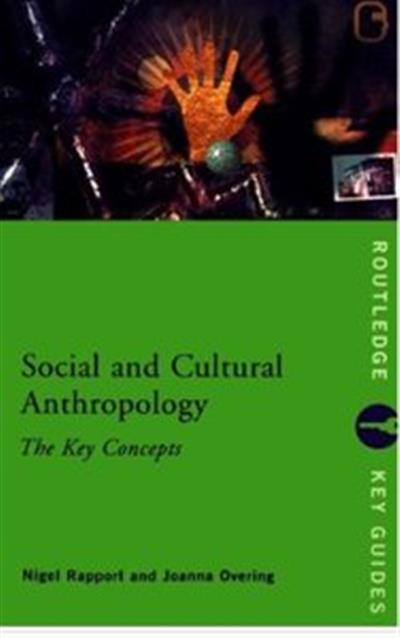 Social and Cultural Anthropology [Repost]
