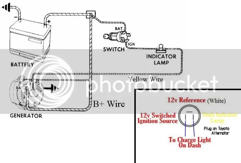 toyota gm alternator swap toyota circuit diagrams