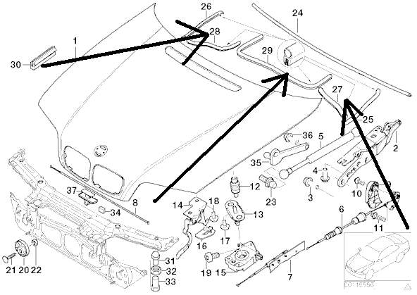 schema moteur bmw 318i e46