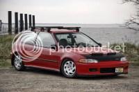 Alfa img - Showing > Civic EG Hatch Bike Rack
