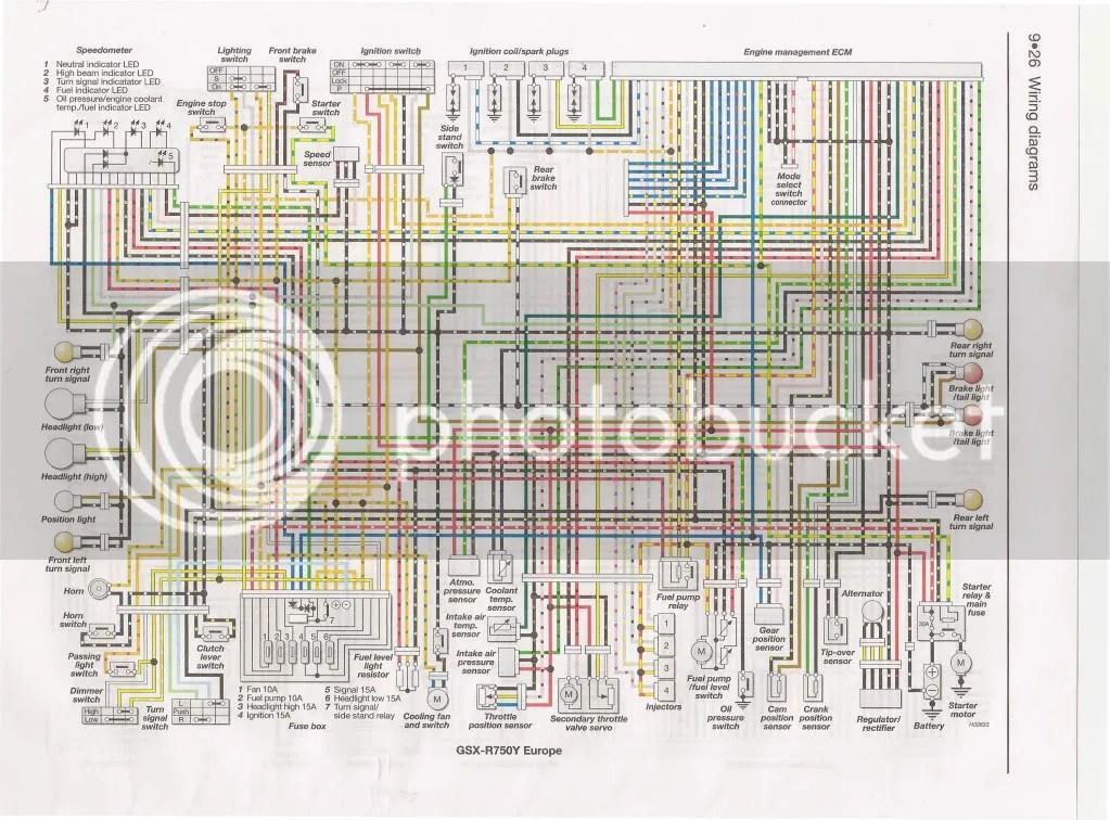 Wiring Diagram For 2005 Gsxr 600 electrical wiring diagram symbols