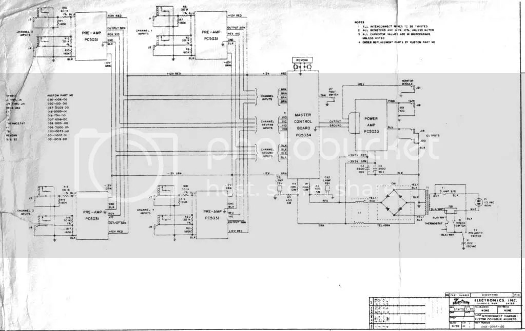 Links to Kustom schematics