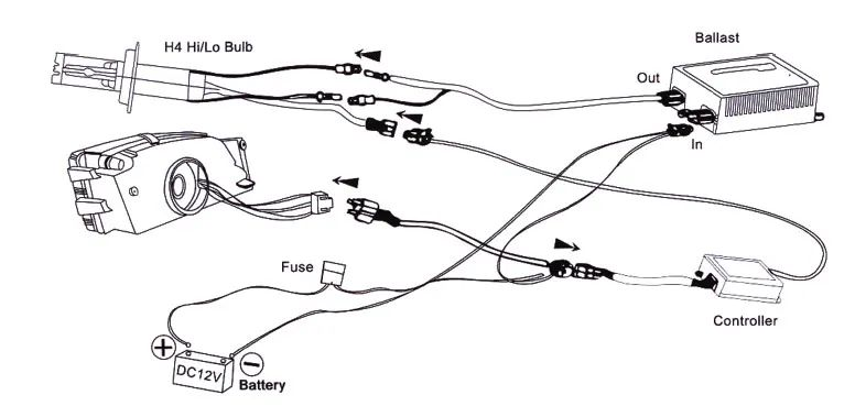 9008 headlight connector wiring diagram