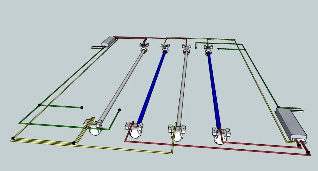 T8 Ballast Wiring Schematic technical wiring diagram