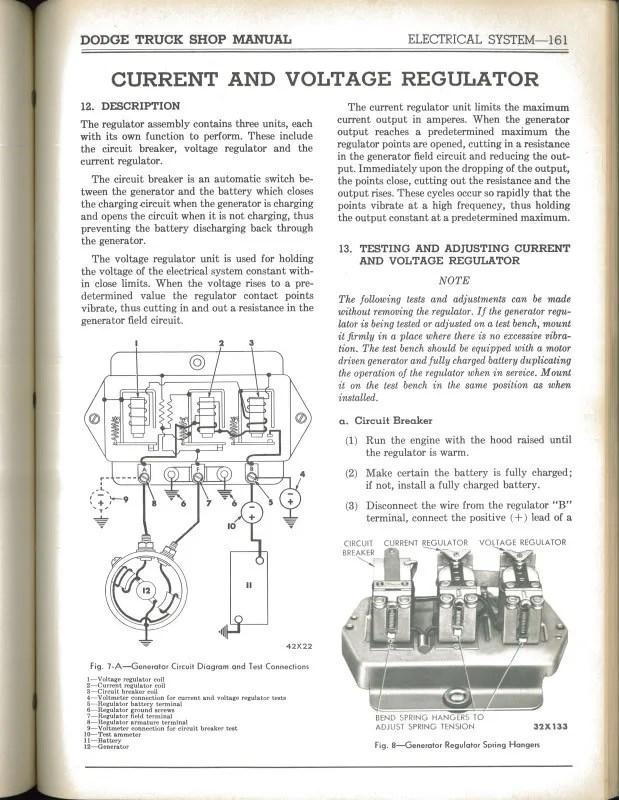 Voltage Regulator Problems - Mopar Flathead Truck Forum - P15-D24