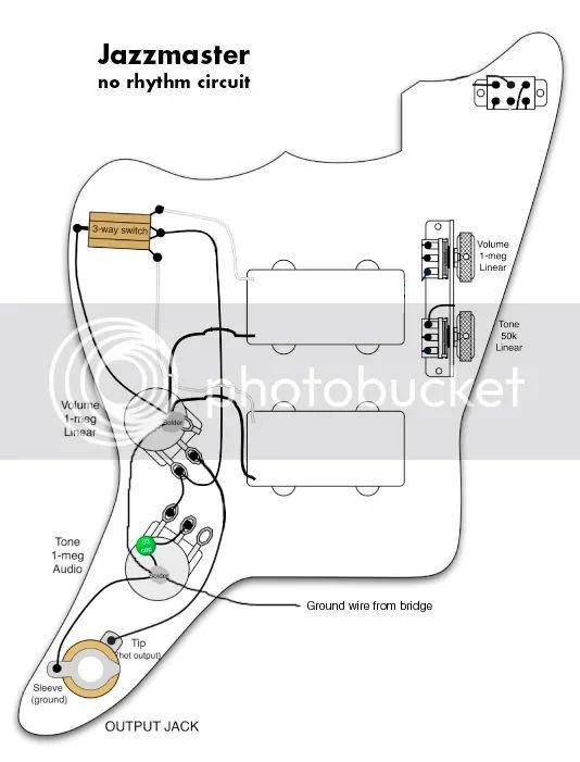 fender jazzmaster wiring diagram on jazzmaster wiring mods