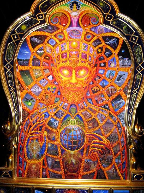 Dmt Wallpaper Hd Alex Grey Peintre Psych 233 D 233 Lique Page 1 Graph