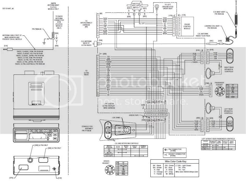 00\u0027 Ultra radio wiring schematic? Harley Davidson Forums