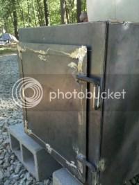 Smoker Door & SMALL SLAM LATCH Smoker Door Latch Assembly