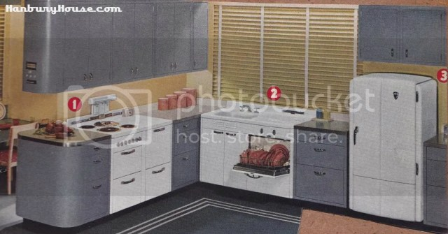Retro Kitchen Images From The 1940s and 1950s Scrapbook – 1950 Kitchen Design