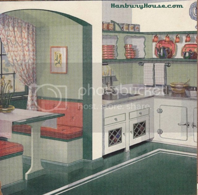kitchensgreenandgreen 1 Retro Kitchen Images From The 1940s and 1950s Scrapbook