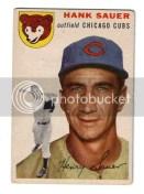 1954 Topps Hank Sauer