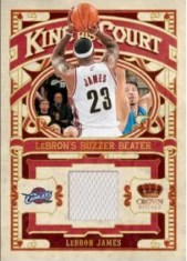 09/10 Panini Crown Royale LeBron James King of His Court Jersey