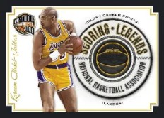 09/10 Panini Hall of Fame Scoring Leader Kareem Abdul Jabbar