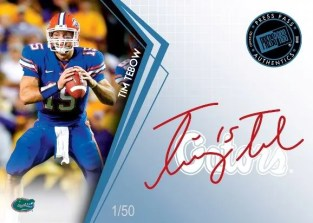 Tim Tebow 2010 Press Pass Auto RC