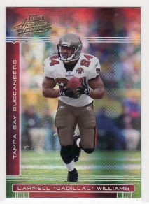 2006 Playoff Absolute Memorabilia Carnell Cadillac Williams #139